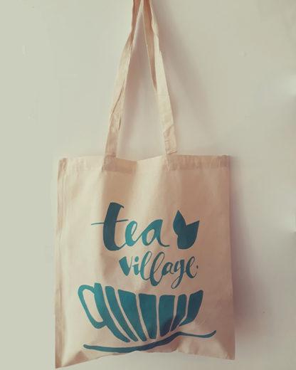 Tea Village Fan Bag